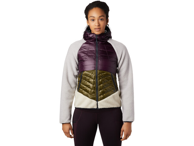 Mountain Hardwear Altius Hybrid Hoody Dame Darkest Dawn